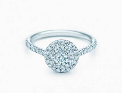 Mais Popular Aneis de Noivado Tiffany Co Tiffany Soleste Redondo | Tiffany & Co. | Pinterest | J