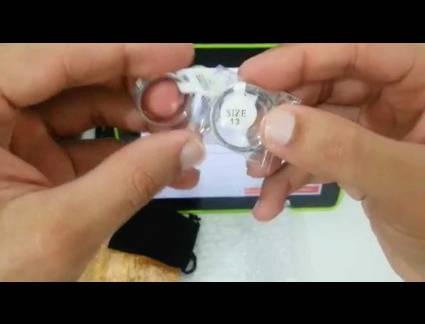 Luxo Anel de Namoro Aliexpress 017# Unbox Anéis de Compromisso 8Mm - Aliexpress - You